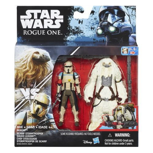 Star Wars Rogue One Moroff vs Scarif Stormtrooper Squad Leader